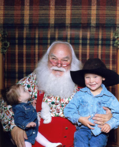 Photos with Santa Claus